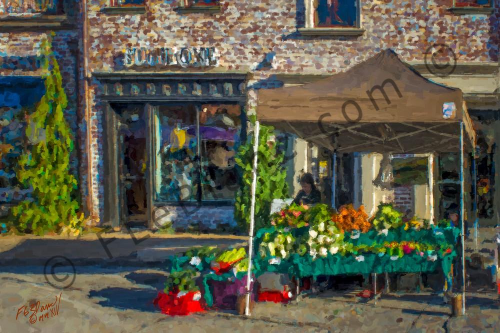 European Sunny Market Painting Decor|Wall Decor fleblanc