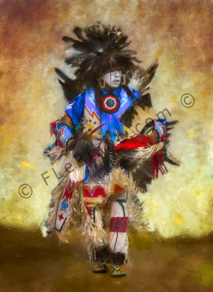 Native American Culture Tradition Painting|Wall Decor fleblanc