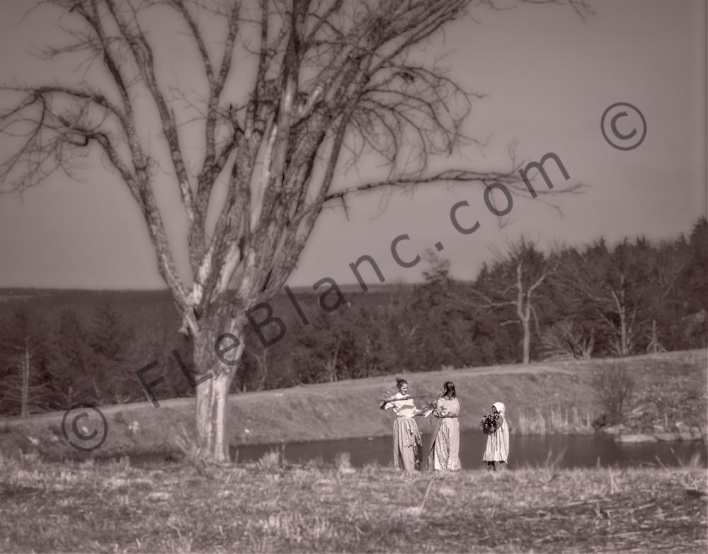 Civil War Reenactors Gathering Wood Realistic Historic fleblanc