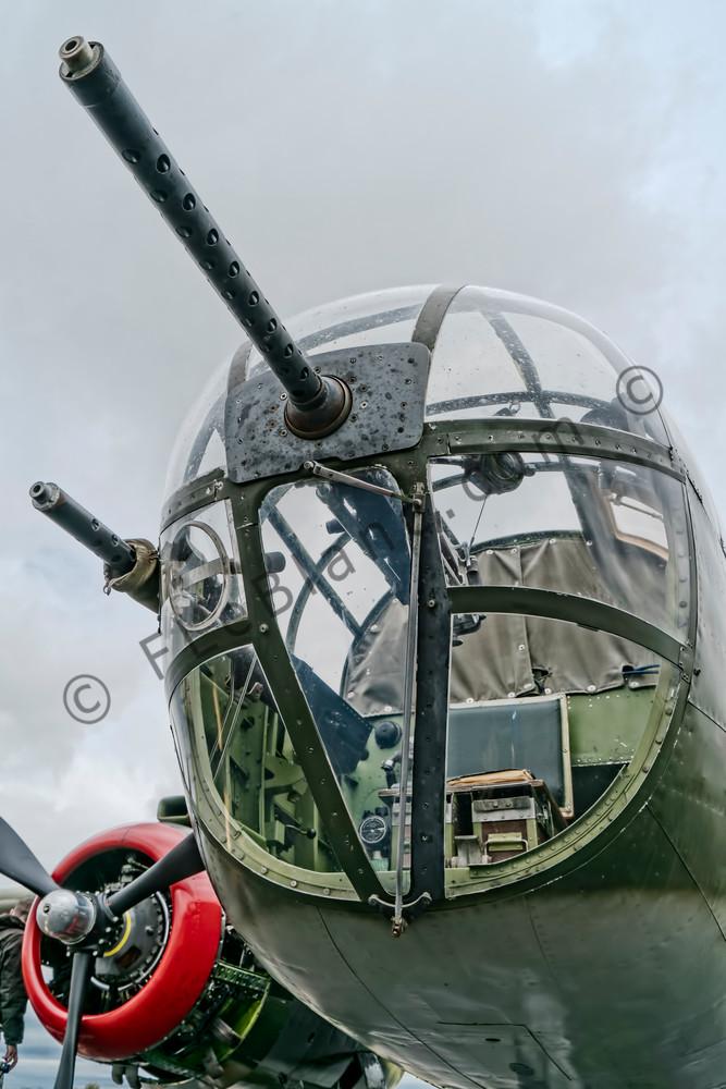 B-25 Mitchell WW2 USAF Historic WWII Military Tondelayo fleblanc