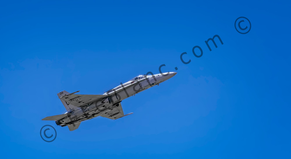 US Navy F/A-18F Super Hornet Supersonic In The Air fleblanc