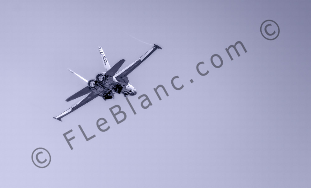Modern Military Boeing F/A-18F Super Hornet Carrier Launched fleblanc