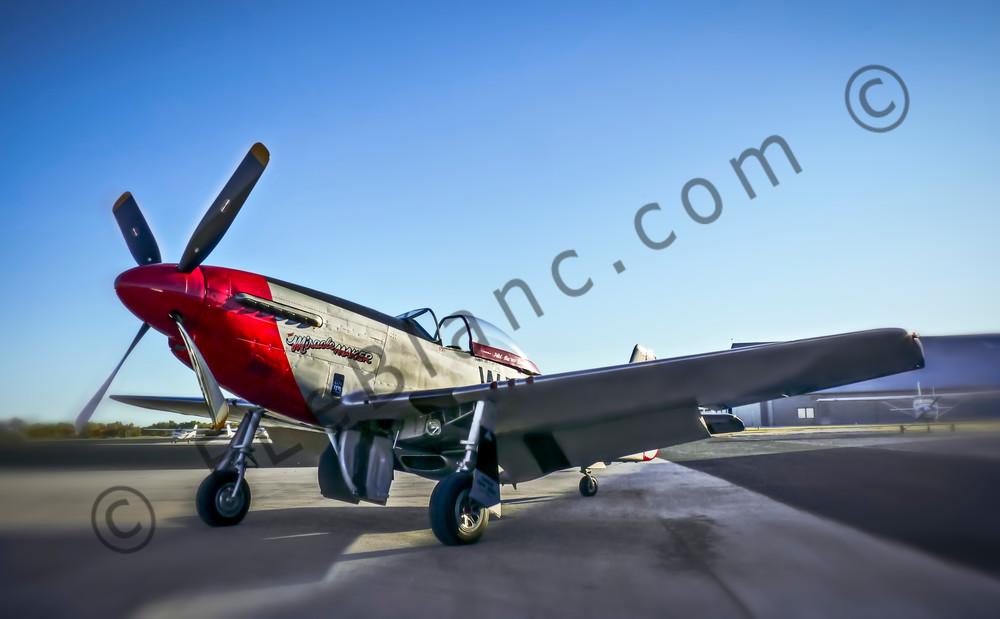 North American P-51 Mustang Combat Ready Aircraft fleblanc