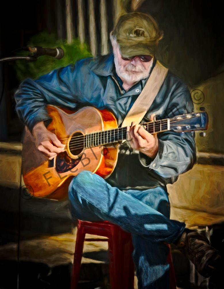 Art Photograph Street Performance Musician Guitar fleblanc