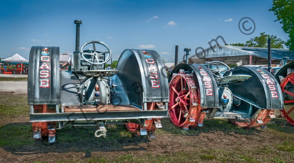 Row JL Case Gas Restores Old Vintage Farm Tractors fleblanc