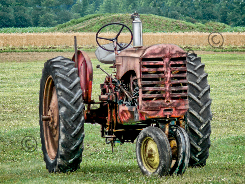 Antique Gas Farm Ranch Tractor Ready To Work The Field fleblanc