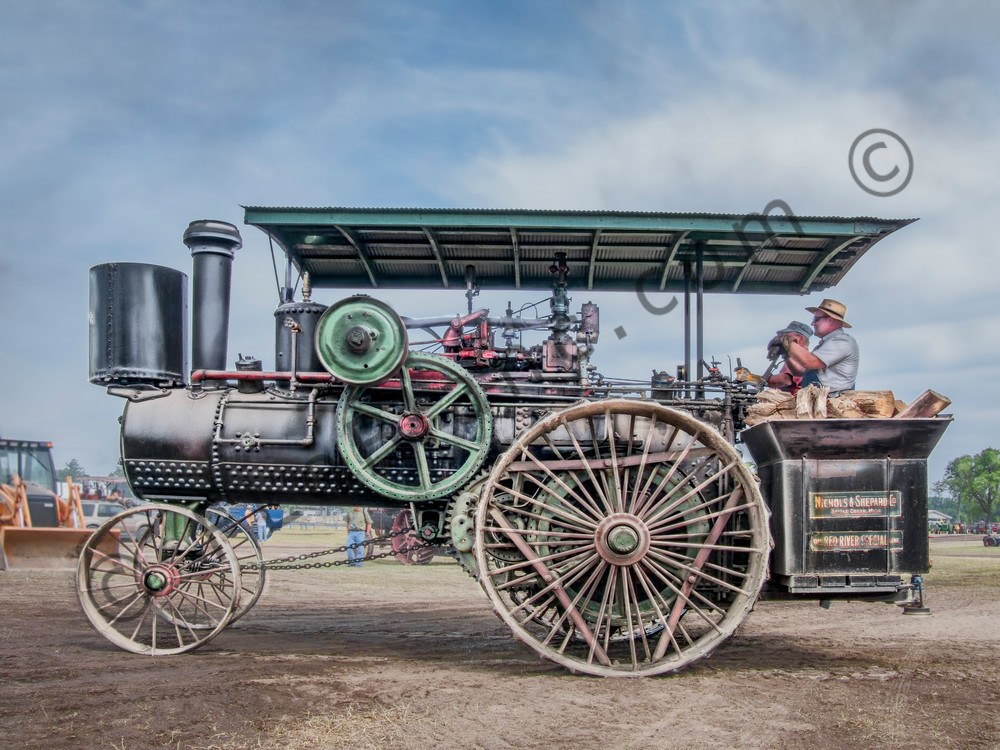 Amazing Fully Restored Nichols Shepard Steam Traction Engine fleblanc