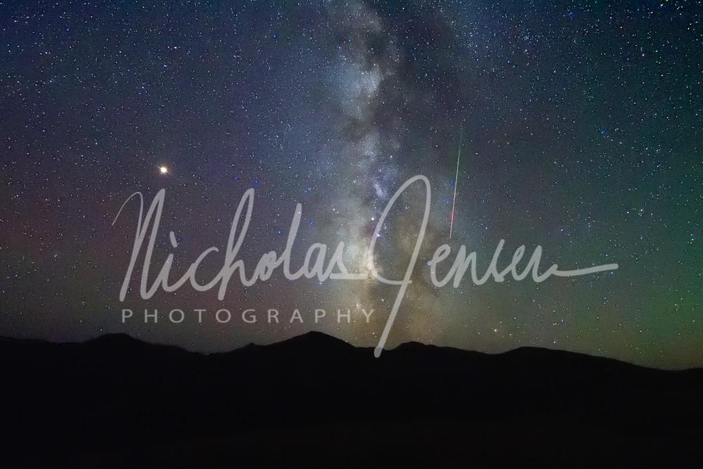 Meteoric Milky Way