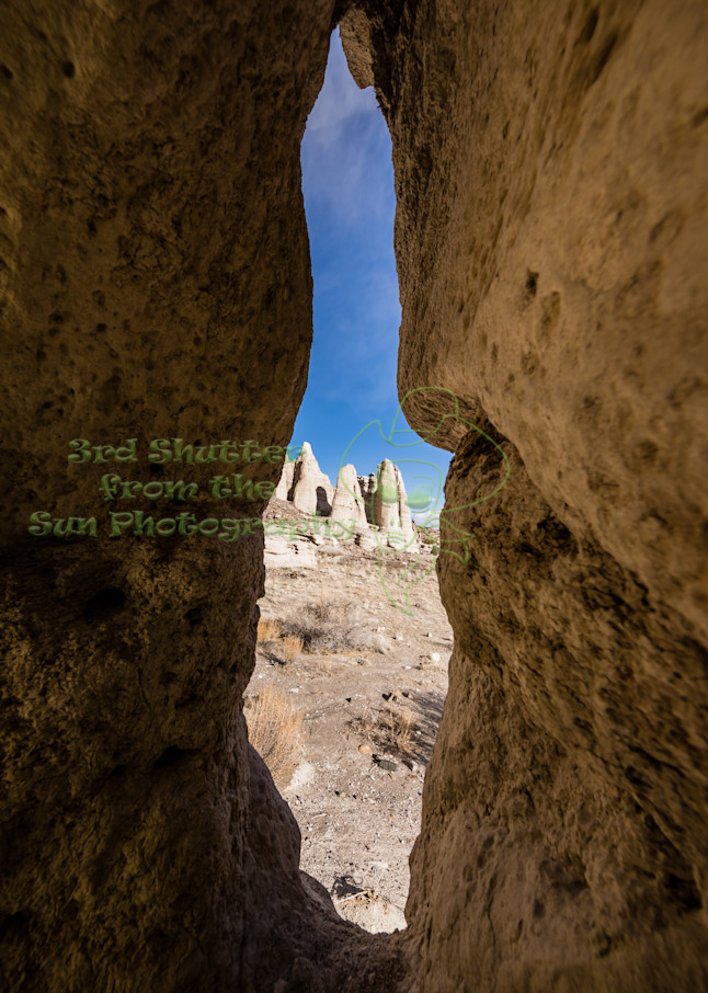 Glimpse Of Plaza Blanca Abiquiu Art | Third Shutter from the Sun Photography