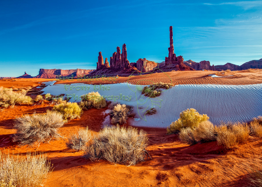 Award Winning Monument Valley Totem Poles Archival Prints