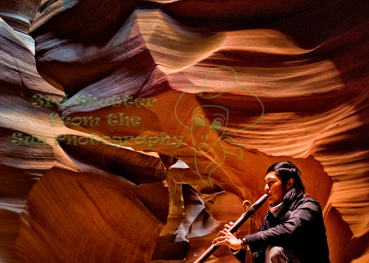 Award Winning Antelope Canyon Song Archival Print