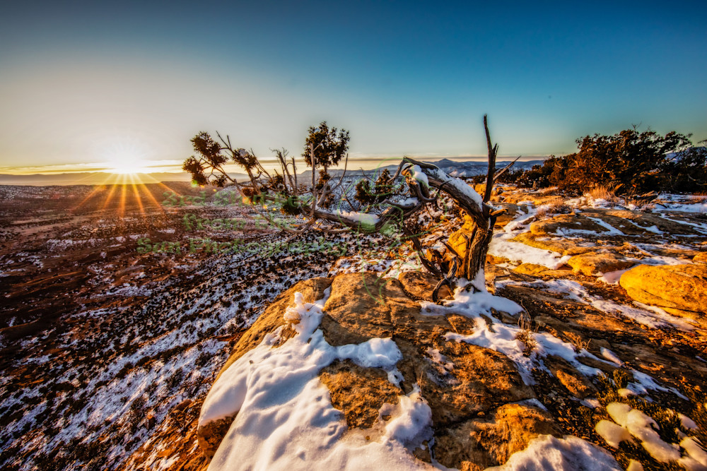 Copper Canyon Sunrise Art | Third Shutter from the Sun Photography