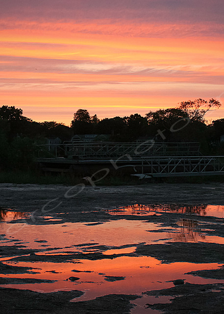 Sunset Reflections in the Water