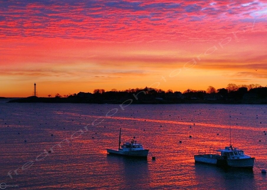 Harbor Ablaze Art | Fred Marco Photography