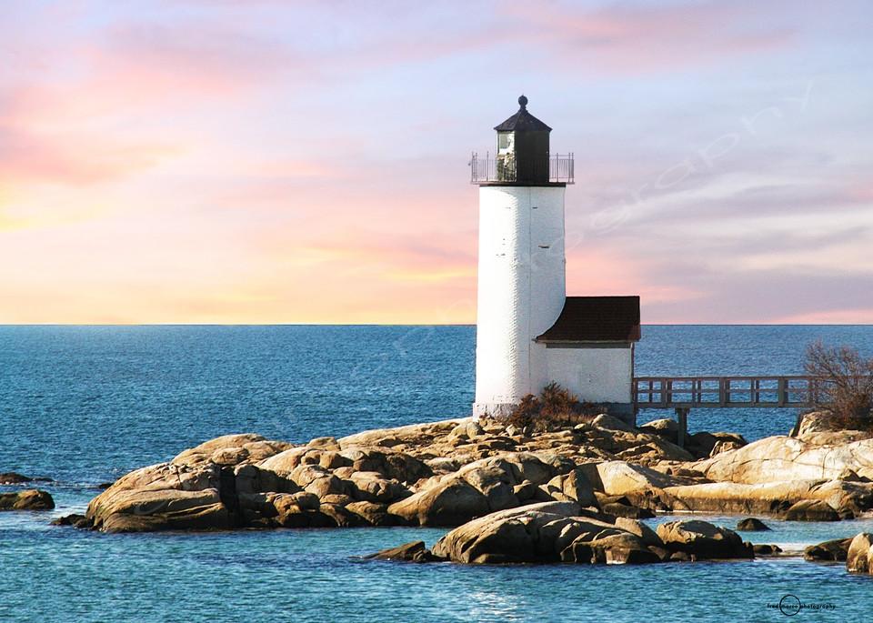 Sunset at Annisquam Lighthouse