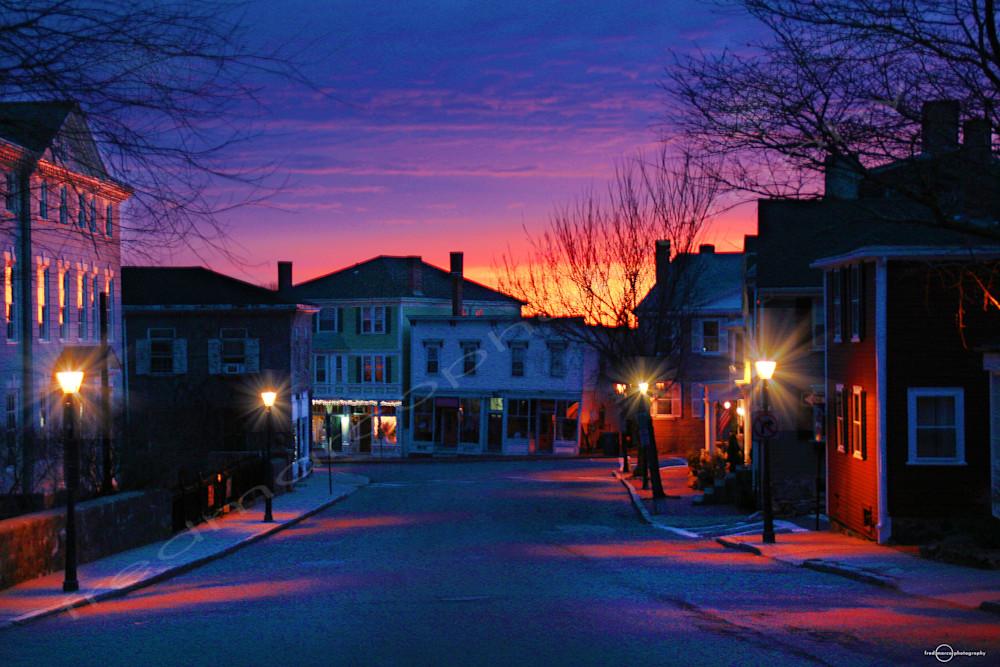 Daybreak in Marblehead
