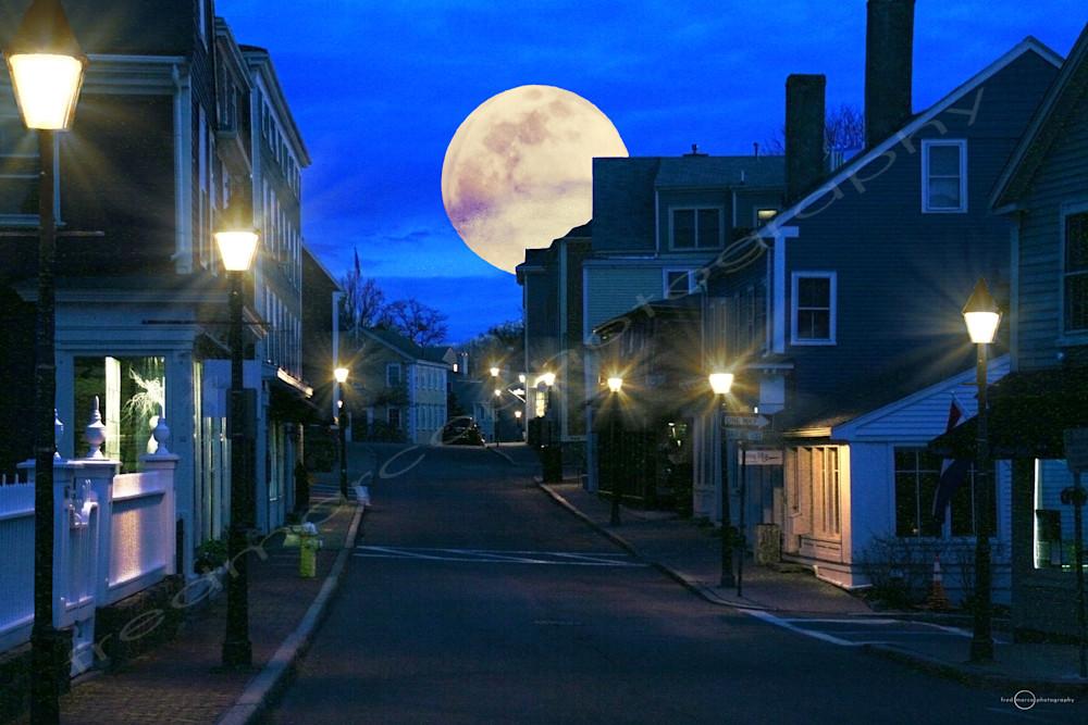 Coastal Moon