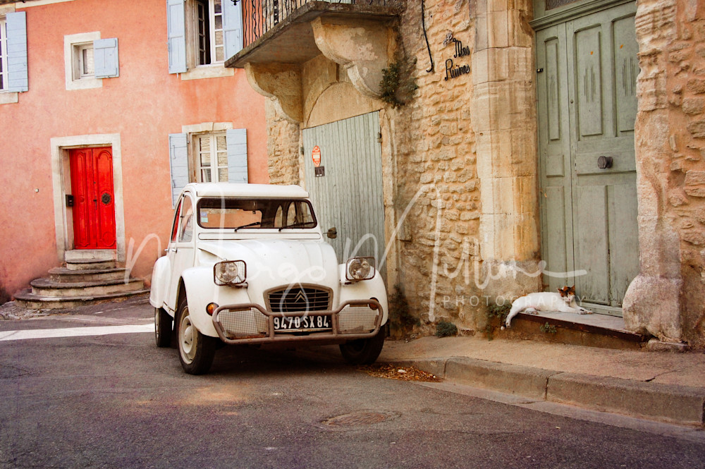 Provence afternoon Roussillon France