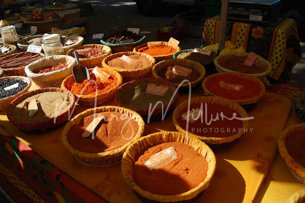 Spices at Aix en Provence Market
