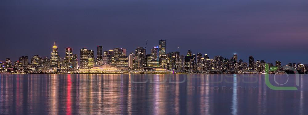 City Lights-Vancouver