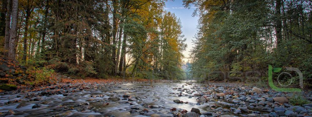River Rock Autumn