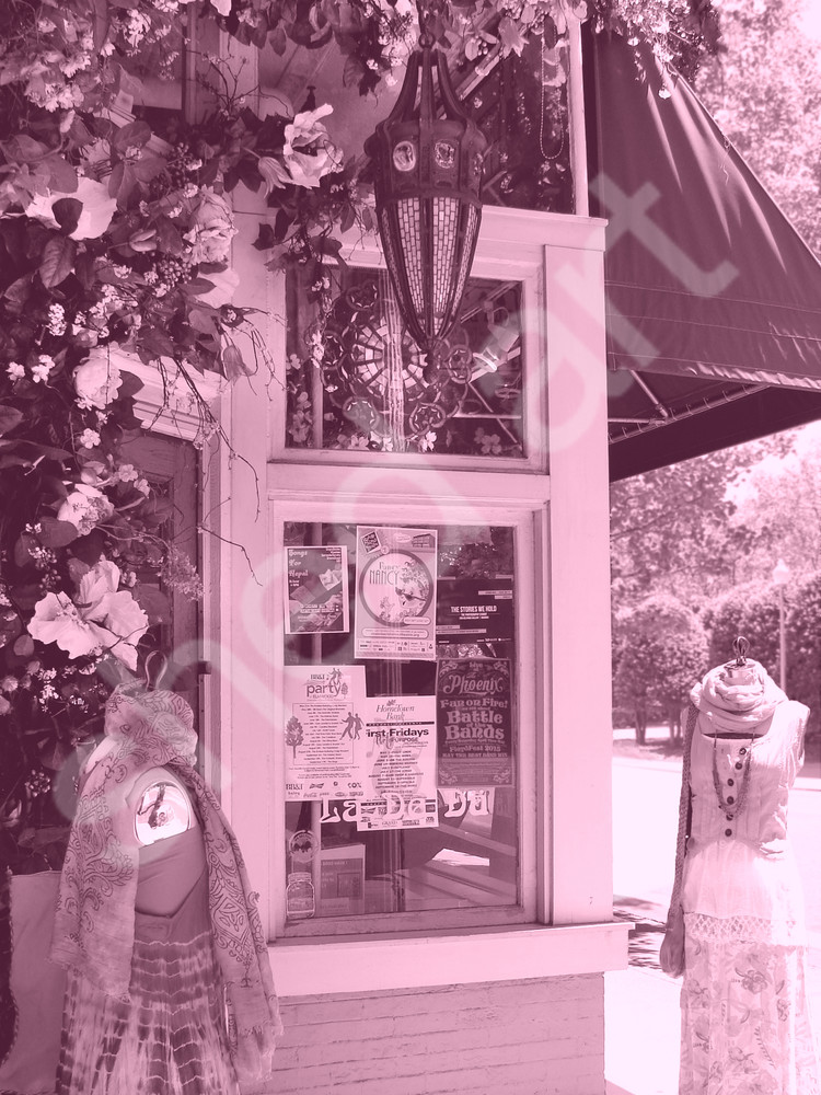 pink boutique asheville street flowers