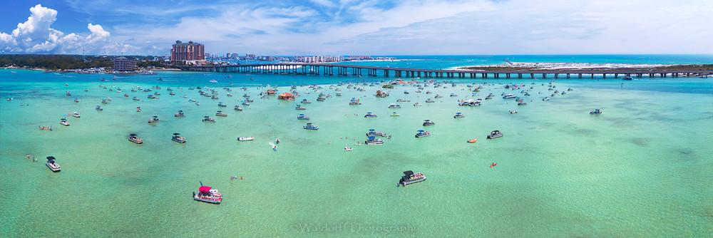 Crab Island | Destin Bridge, Florida | Emerald Coast, Florida | Waldorff Photography