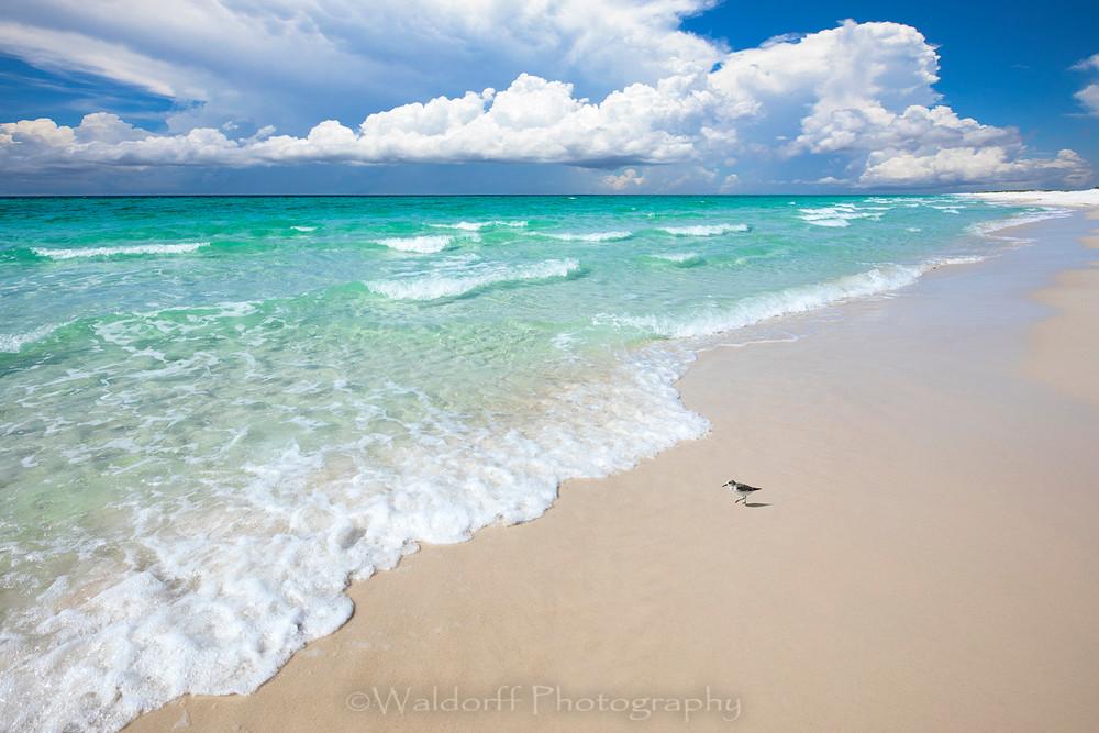 Emerald Coast Beach | Destin, Florida | Fine Art Landscape Photography on Canvas, Paper, Metal | Photography by Jeff Waldorff