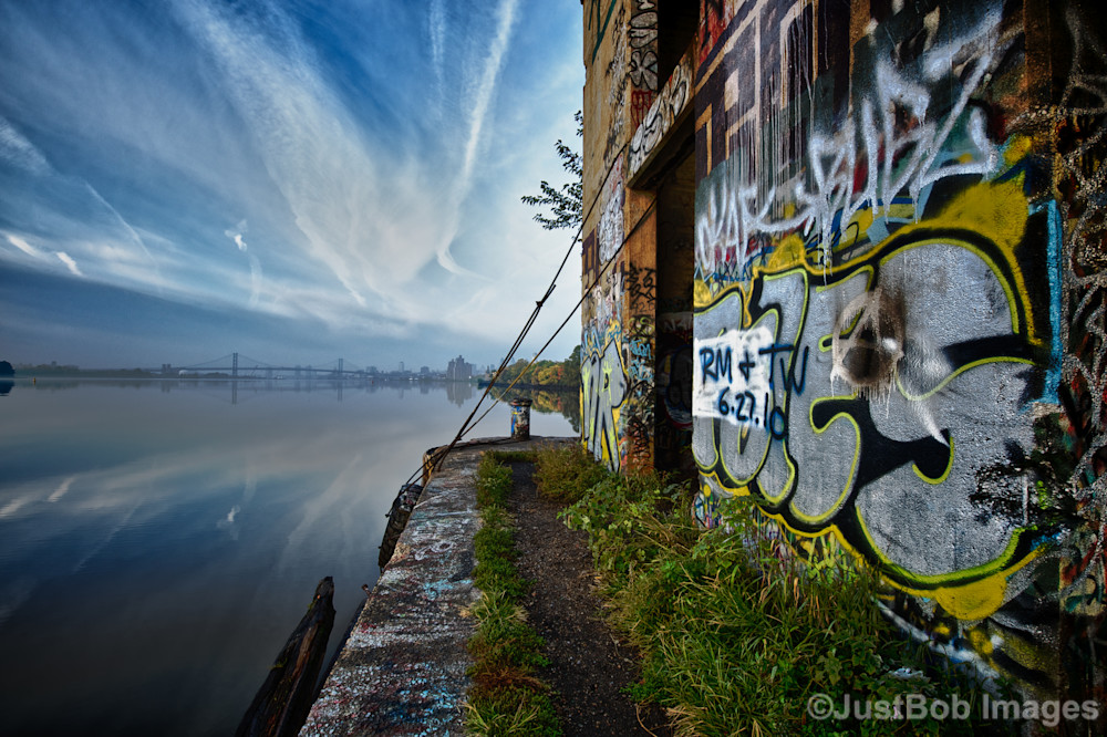 Graffiti Underground at Sunrise Fine Art Photograph | JustBob Images