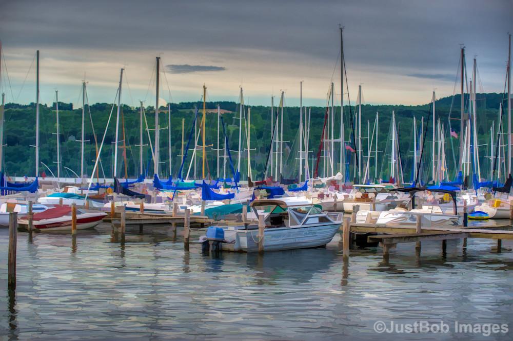 Harbor at Watkins Glen Fine Art Photograph | JustBob Images