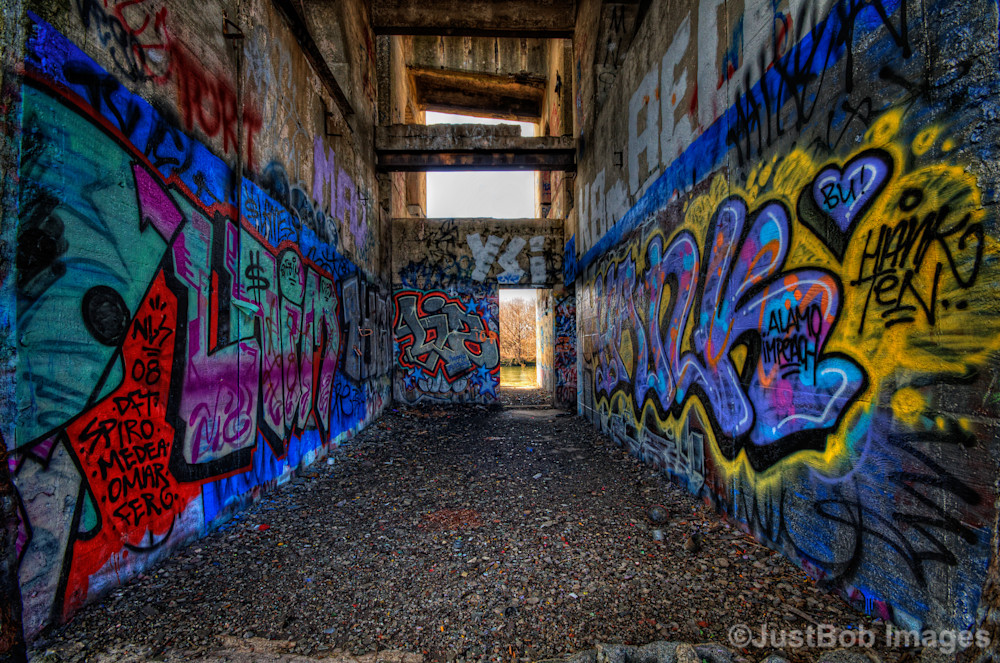 Room of Graffiti Fine Art Photograph | JustBob Images