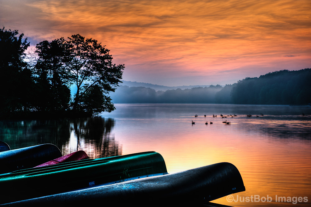 French Creek Sunrise Fine Art Photograph | JustBob Images