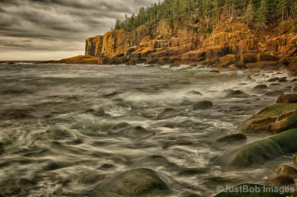 Sunrise on Otter Cliffs #2 Fine Art Photograph | JustBob Images