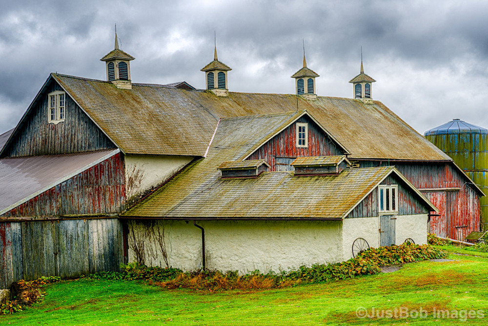 Haskell Barn Fine Art Photograph | JustBob Images