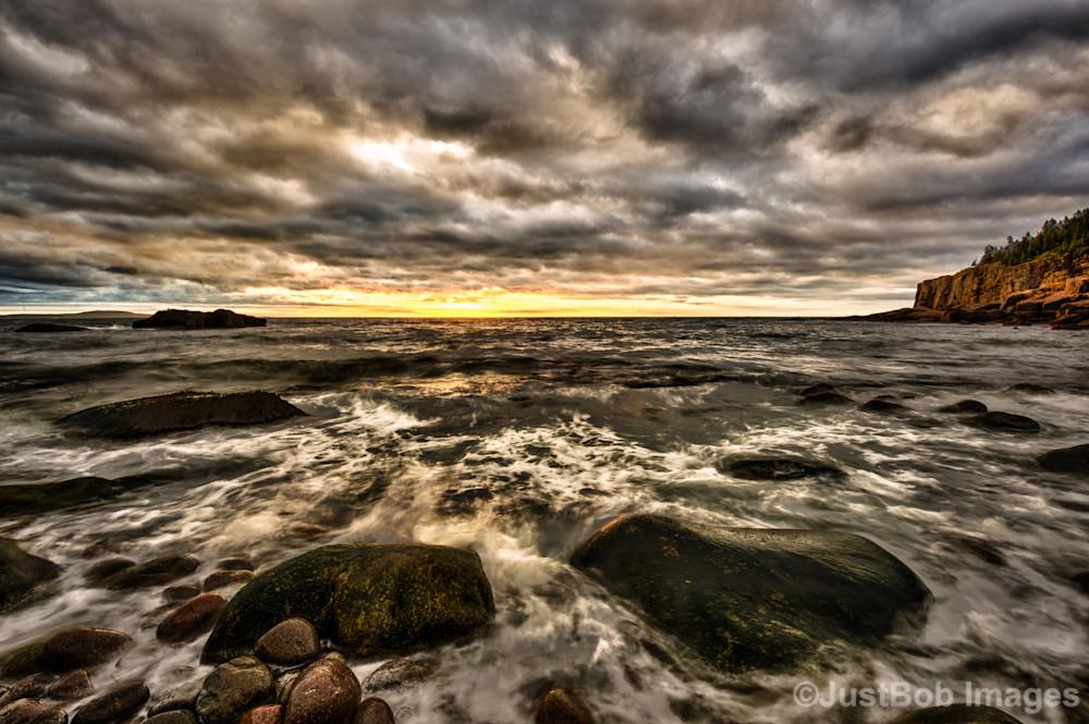 Sunrise on Otter Cliffs #3 Fine Art Photograph | JustBob Images