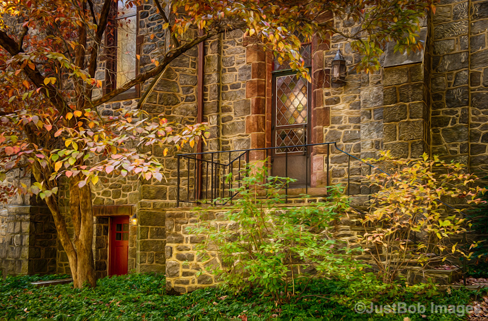 Christ Church #1 Fine Art Photograph | JustBob Images