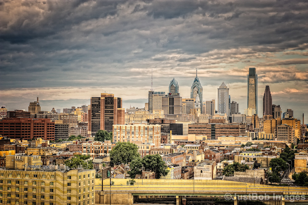 Philly Skyline Fine Art Photograph | JustBob Images