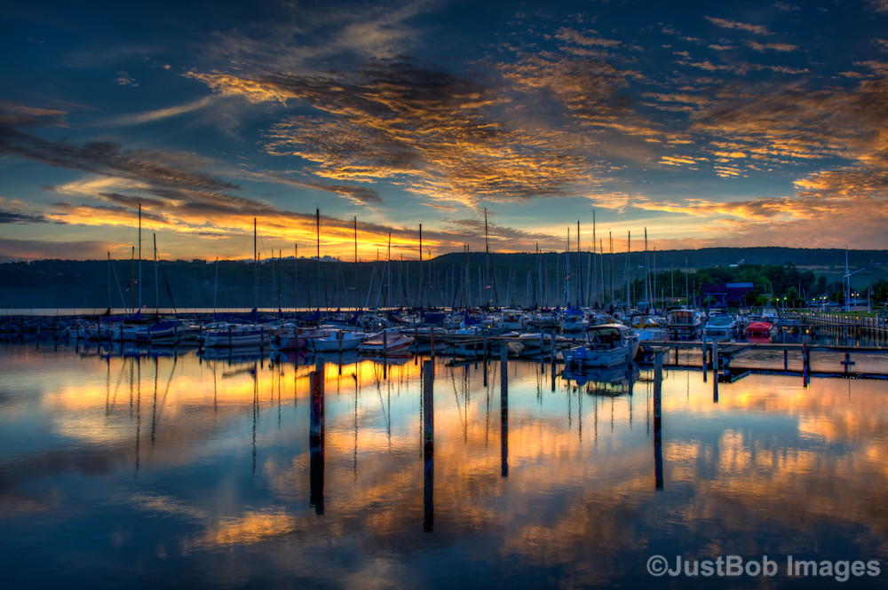 Seneca Lake Sunrise Fine Art Photograph | JustBob Images