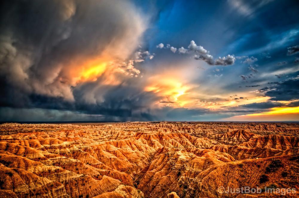 Badlands after Storm #4 Fine Art Photograph | JustBob Images