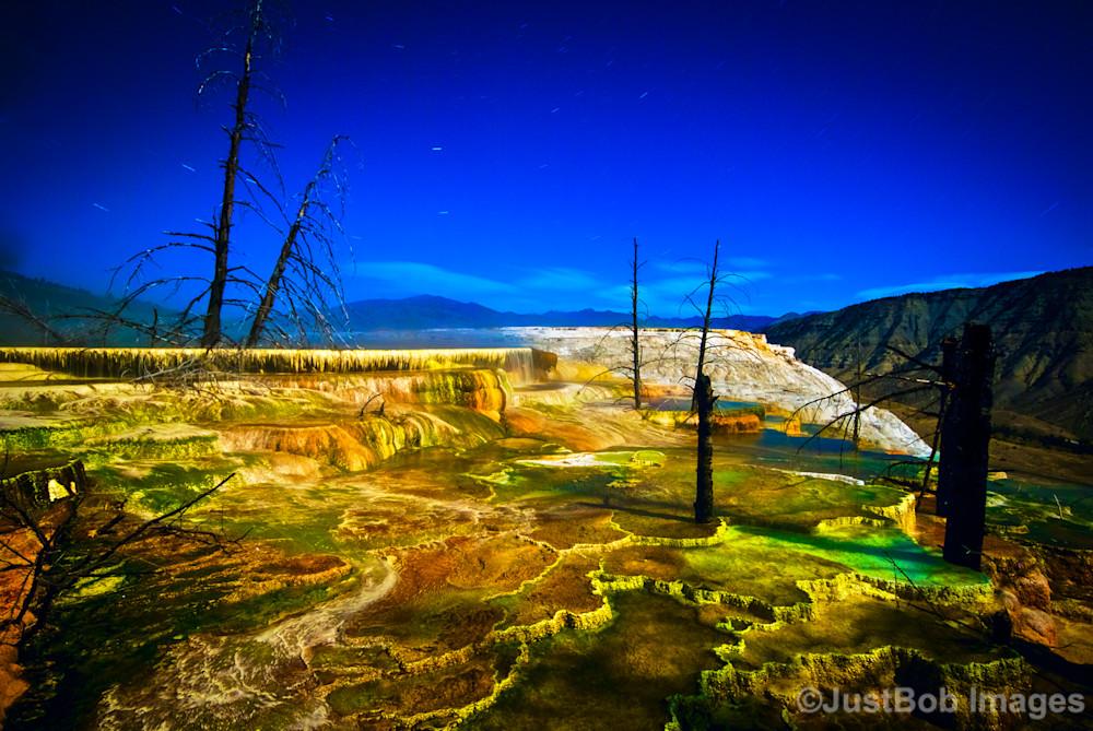 Minerva Terraces Fine Art Photograph | JustBob Images