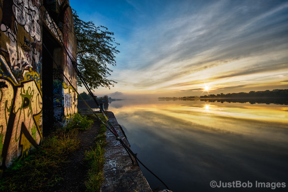 Sunrise on Graffiti Underground Fine Art Photograph | JustBob Images