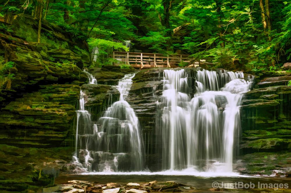 Wyandot Falls Fine Art Photograph | JustBob Images