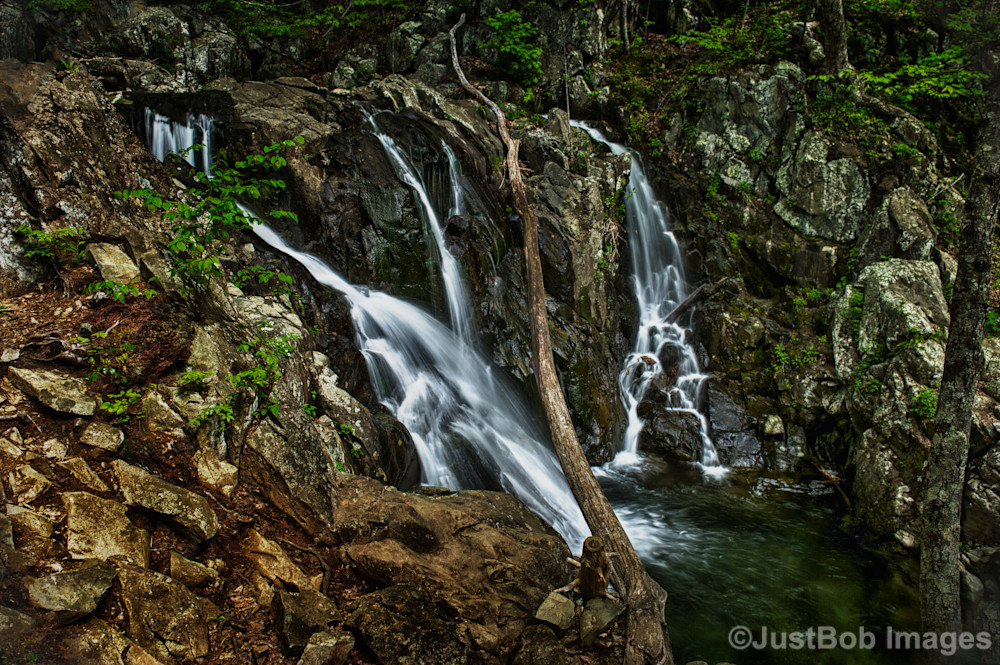 Rose River Falls Fine Art Photograph | JustBob Images