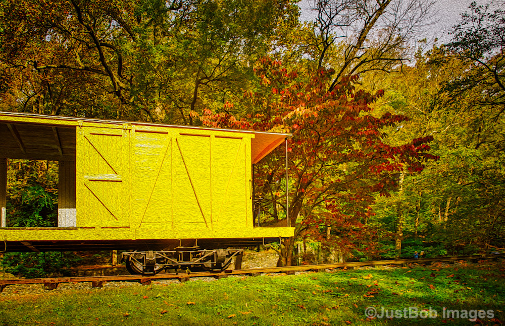 Hagley Railroad Fine Art Photograph | JustBob Images