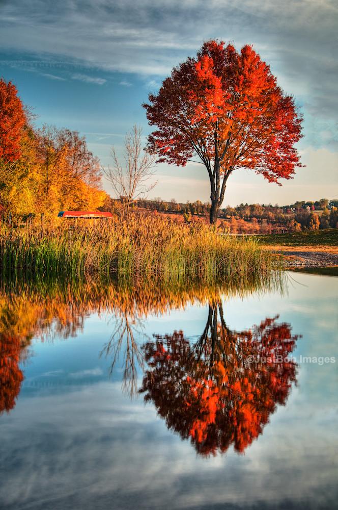 Marsh Creek Sunrise Fine Art Photograph | JustBob Images