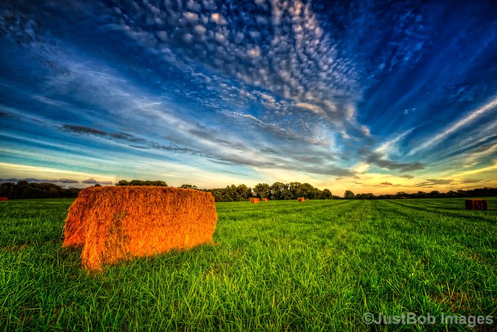 Hay Bales Fine Art Photograph | JustBob Images