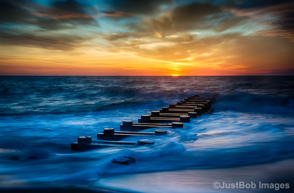 Outfall at Sunrise #5 Fine Art Photograph | JustBob Images