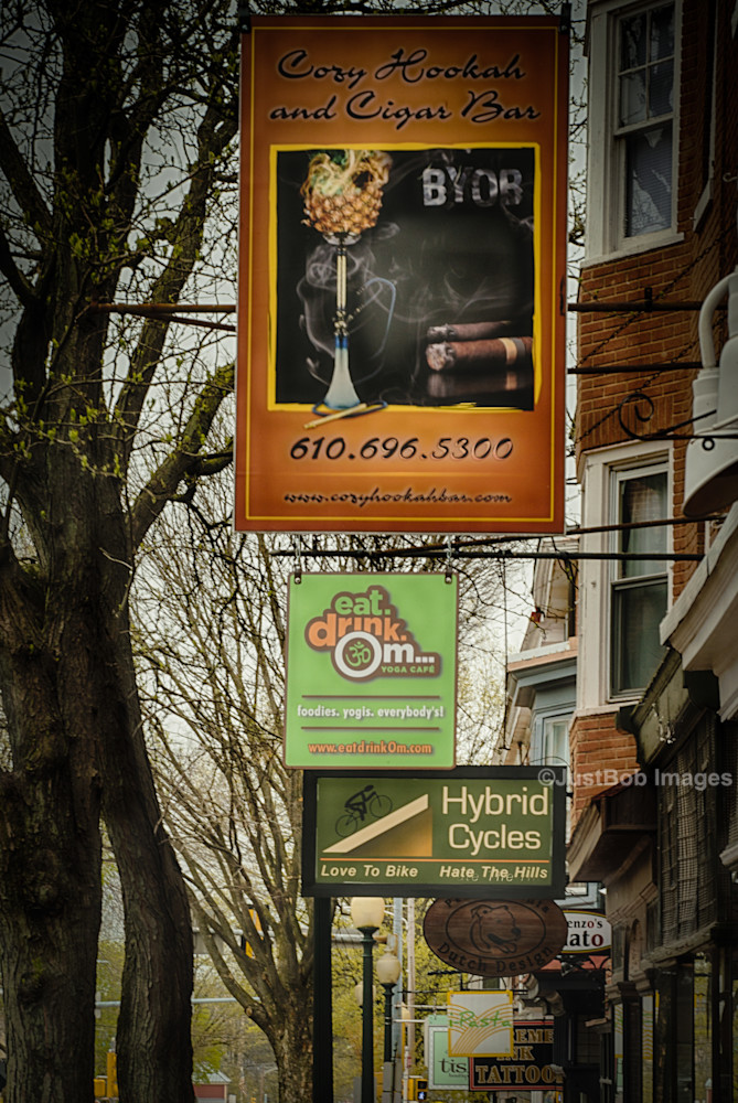 Signs Fine Art Photograph | JustBob Images
