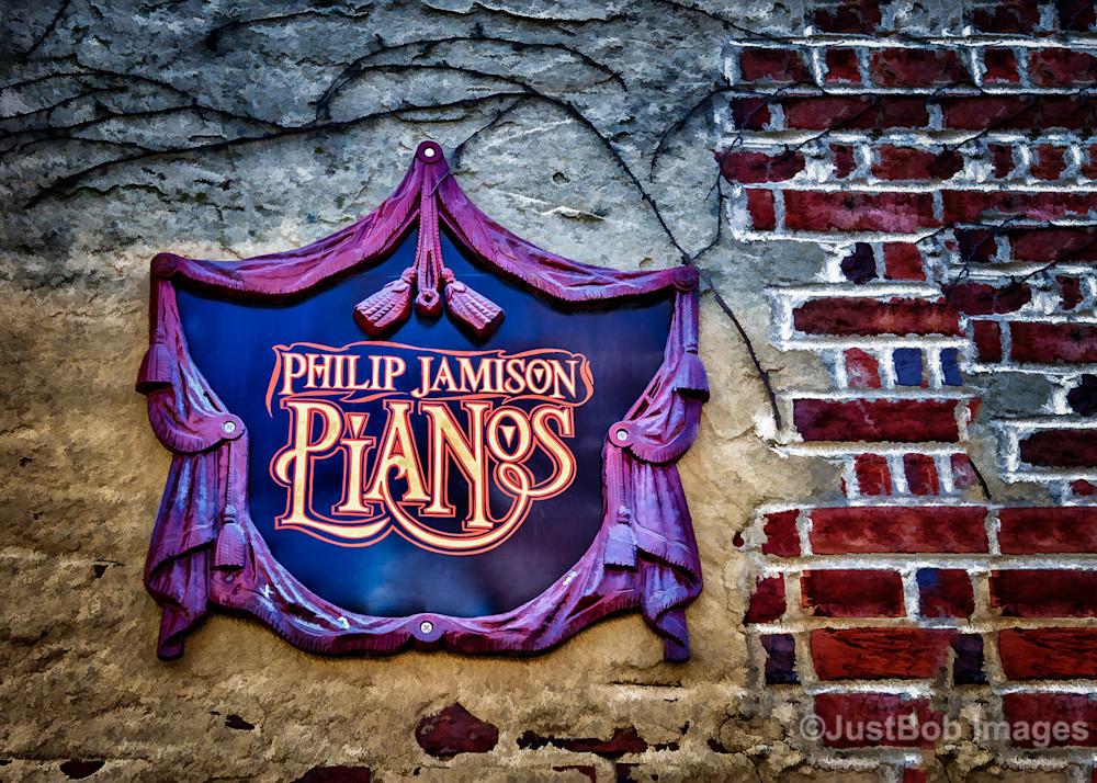 Jamison Pianos Fine Art Photograph | JustBob Images