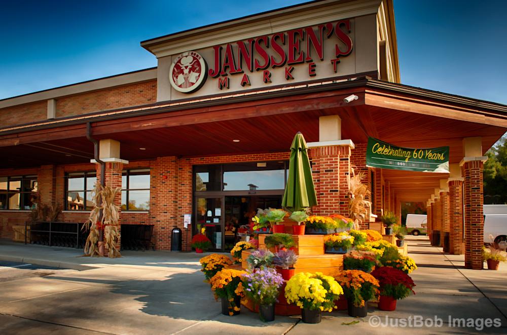 Janssen's Market Fine Art Photograph   JustBob Images